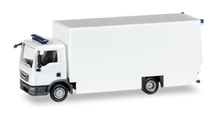 HERPA 1:87 - MiniKit: MAN TGL box truck, white / unprinted