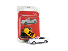 HERPA 1:87 - MiniKit: MERCEDES BENZ SLK Roadster, pure white