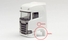 HERPA 1:87 - Part service canine Scania CR with short flaps