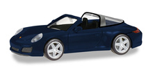 HERPA 1:87 - Porsche 911 Targa 4, night blue metallic