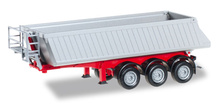 HERPA 1:87 - Schmitz dump trailer, 3a, red