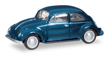 HERPA 1:87 - VOLKSWAGEN Kaefer, steel blue