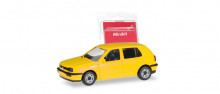 HERPA (MINIKIT) 1:87 - VW GOLF III, YELLOW