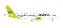 """HERPA (WINGS) 1:500 - airBaltic Airbus A220-300 - new livery """"100th A220"""" – YL-AAU"""