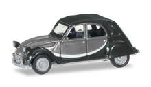 HERPA1:87 - Citroen 2 CV Charleston, light gray / dark gray