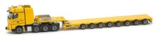 IMC Models 1:50 - Mercedes-Benz Arocs Big Space 8x4 Nooteboom 8 axle semi low loader 'Steil'