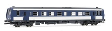Jouef HO (1:87) - Diesel Railcar X2200 light blue/white/grey ,Ep IV
