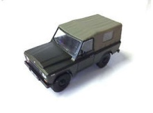 MAGAZINE MODELS 1:43 - ARO 240 *POLISH CARS*, ARMY GREEN