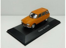 MAGAZINE MODELS 1:43 - CITROEN AMI 8 1978, ORANGE