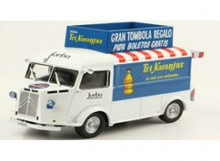 MAGAZINE MODELS 1:43 - CITROEN TYPE H 1959 *TRI NARANJUS*, WHITE/BLUE