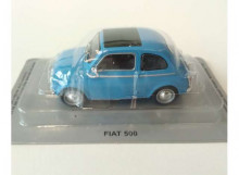 MAGAZINE MODELS 1:43 - FIAT 500 1960/1965, BLUE