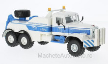MAGAZINE MODELS 1:43 - KRAZ 255B BRO-200, WHITE/BLUE