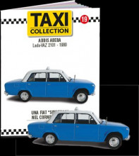 MAGAZINE MODELS 1:43 - LADA 1200 - ADDIS ABEBA 1980, TAXI OF THE WORLD - CENTAURIA