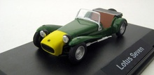 MAGAZINE MODELS 1:43 - LOTUS SEVEN, GREEN-YELLOW