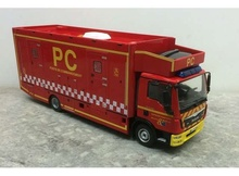 MAGAZINE MODELS 1:43 - MAN TGL 12.250 FIRETRUCK FRANCE, RED