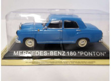 MAGAZINE MODELS 1:43 - MERCEDES W180 PONTON *LEGENDARY CARS* BLUE