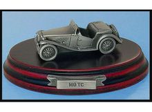 MAGAZINE MODELS 1:43 - MG TC *TIN CLASSIC CAR COLLECTION*, SILVER