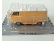 MAGAZINE MODELS 1:43 - RENAULT ESTAFETTE *POLISH CARS*, ORANGE/WHITE