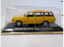 MAGAZINE MODELS 1:43 - WARTBURG 353 TOURIST 1974 'LEGENDARY CARS', YELLOW