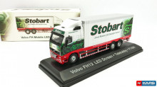 MAGAZINE MODELS 1:76 - VOLVO FH12 BOX OF STOBART, GREEN/RED/WHITE