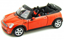 MAISTO 1:24 - MINI COOPER CABRIOLET 2011, ORANGE