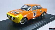 "MINICHAMPS 1:18 - ALFA ROMEO GTA 1300 JUNIOR 1972 #83 ""JAGERMEISTER"" RAINER MASCHKE DRM, ORANGE-RED"