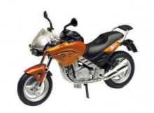 MOTORMAX 1:18 - BMW F650CS, COPPER/BLACK