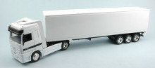 NEW RAY 1:43 - CAMION MERCEDES CONTAINER WHITE