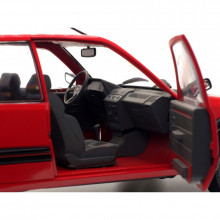 SOLIDO 1:18 - PEUGEOT 205 GTI MK1, RED