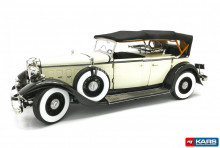 SUNSTAR 1:18 - FORD LINCOLN 1932 KB TOP-UP, BLACK/WHITE