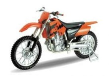 WELLY 1:18 - KTM 450 SX RACING, ORANGE/BLACK