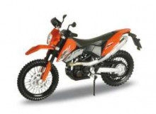 WELLY 1:18 - KTM 690 ENDURO, ORANGE