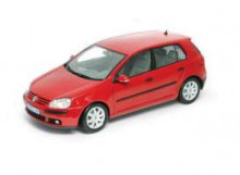 WELLY 1:18 - VOLKSWAGEN GOLF V 2005, RED