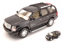 WELLY 1:24 - CADILLAC ESCALADE 2002 BLACK