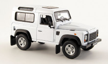 WELLY 1:24 - LAND ROVER DEFENDER, WHITE