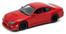 WELLY 1:24 - NISSAN SILVIA S-15, RED