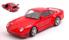 WELLY 1:24 - PORSCHE 959 RED