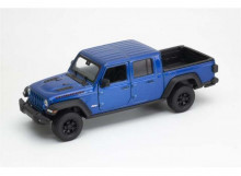 WELLY 1:27 - JEEP RUBICON 2019, BLUE