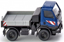 WIKING 1:87 - MERCEDES BENZ UNIMOG U20, BLUE