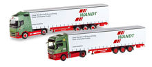 HERPA 1:87 - SET WITH TWO MODELS '80TH ANNIVERSARY SPEDITION WANDT'