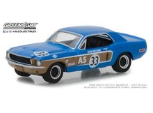 GREENLIGHT 1:64 - FORD MUSTANG #33 JOHN MCCOMB TRANS AM CONTINENTAL DIVIDE 1968 'FORD RACING HERITAGE SERIES 2'