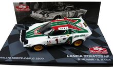 ATLAS 1:43 - LANCIA STRATOS HF #1 MUNARI/MAIGA WINNER RALLY MON