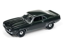 JOHNNY LIGHTNING 1:64 - CHEVROLET CAMARO ZL1 1969, DARK GREEN
