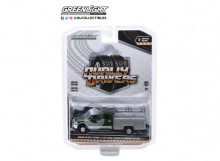 GREENLIGHT 1:64 - RAM 3500 2018 DUALLY SERVICE BED WITH LADDER RACK ALUMINIUM SERVICE BODY *DUALLY DRIVERS SERIE
