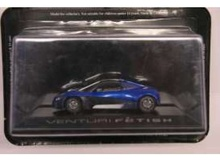 MAGAZINE MODELS 1:43 - VENTURI FETISH CONCEPT CAR, BLUE