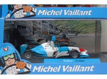 MAGAZINE MODELS 1:43 - F1 2003 'MICHEL VAILLANT SERIES', BLUE/WHITE