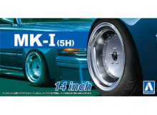 AOSHIMA 1:24 - MARK I (5H) 14 INCH WHEELS SET
