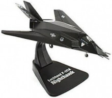 ATLAS 1:144 - LOCKHEED F-117A NIGHTHAWK, BLACK