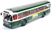 ATLAS 1:43 - SAVIEM SC10U FRANCE 1965, GREEN/WHITE