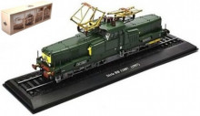 ATLAS 1:87 - SERIE BB 12087 FRANCE 1957 - LOCOMOTIVES OF THE WORLD, DARK GREEN